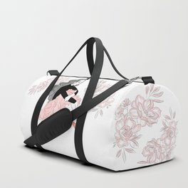 Lovely ballerina Duffle Bag