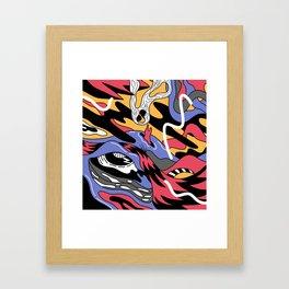 landscaper 3 Framed Art Print