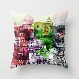 City of Angels in Sicily Throw Pillow