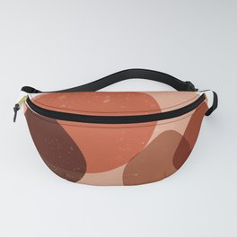 Elementary Formations 03 - Contemporary, Minimal Abstract Fanny Pack