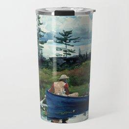 Winslow Homer - The Blue Boat, 1892 Travel Mug
