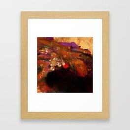 The Devil Framed Art Print