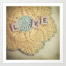 Love. Again. Art Print