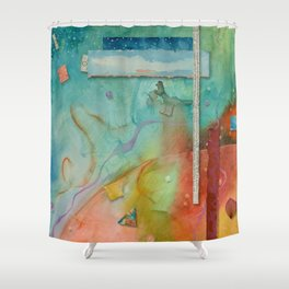 Outer World Shower Curtain