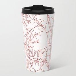 Heart Rain Travel Mug
