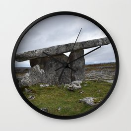 Poulnabrone Wall Clock