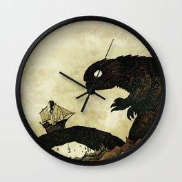 Leviathan & Ship Wall Clock