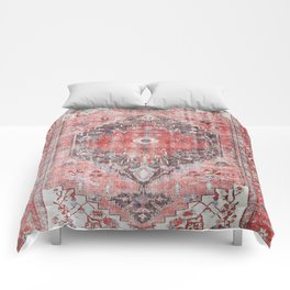 N62 - Vintage Farmhouse Rustic Traditional Moroccan Style Artwork Comforters
