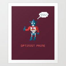Optimist Prime Art Print