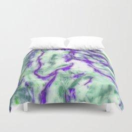 Encaustic Horse (Purple) Duvet Cover