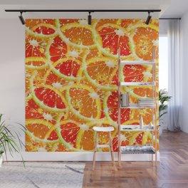 Snow citrus Wall Mural