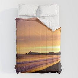 Les Sables d'Olonne - Coucher de soleil  Comforters