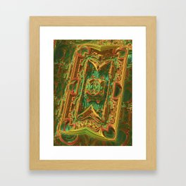 Pipeline Chaos Framed Art Print