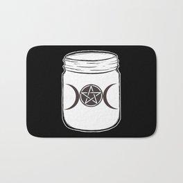Mystical Magic Moons Mason Jar Bath Mat