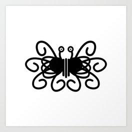 Pastafarian Flying Spaghetti Monster Art Print
