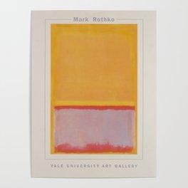 Advertisement mark rothko yale university art Poster