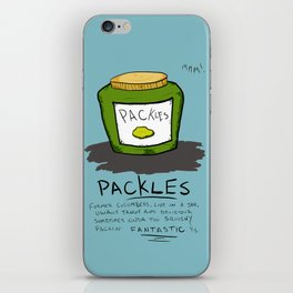Packles iPhone Skin