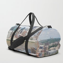 Downtown Pittsburgh Duffle Bag