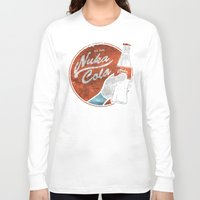 fallout 3 Long Sleeve T-shirts featuring NUKA COLA FALLOUT  by Melroune