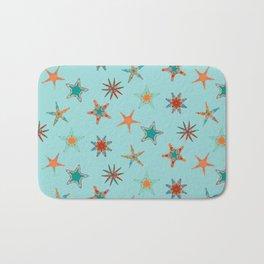 Fish tales: Starfish pattern 1d Bath Mat