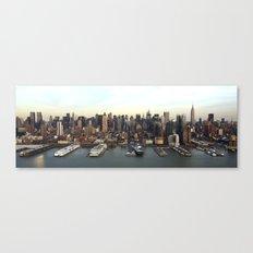 Hudson Meet NYC Canvas Print
