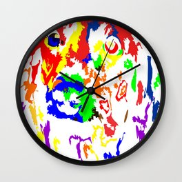 Colorful Dachshund 2018 Modern Fashion Gift Idea Wall Clock