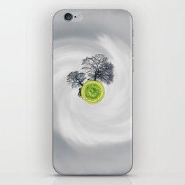 The Whirled iPhone Skin