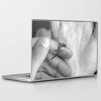lizard Laptop & iPad Skins featuring lizard by maedel