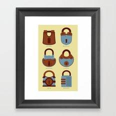 Evolution of Secrets Framed Art Print