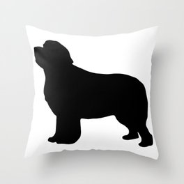 Newf Throw Pillow