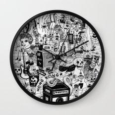 HONG KONG CLUB Wall Clock