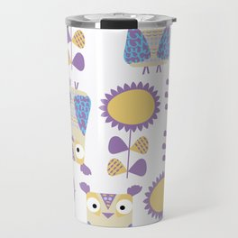 Owls pattern s3 Travel Mug