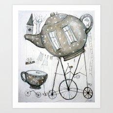 tea house Art Print