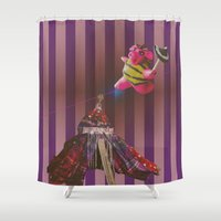 belle Shower Curtains featuring Belle by Corpirate
