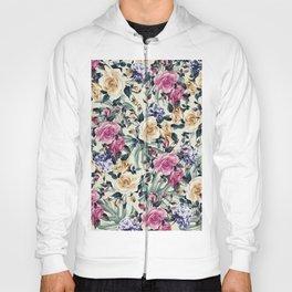 Floral/3 Hoody