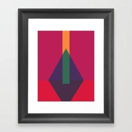 Cacho Shapes LXXIX Framed Art Print