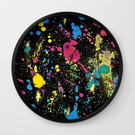 BLACK BALLONS Wall Clock