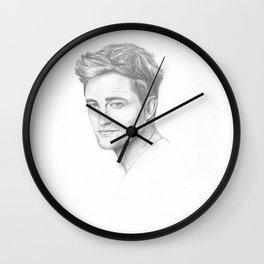 Robert Pattinson Wall Clock