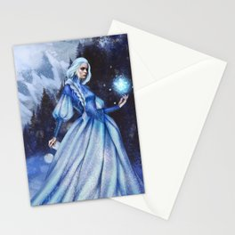 Snow Queen Heart of Ice book by KM Shea Stationery Cards