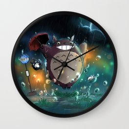 Totoro Wall Clock