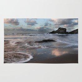 Trevone Bay, Cornwall, England, United Kingdom Rug