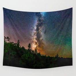Northern Michigan Milky Way Wall Tapestry