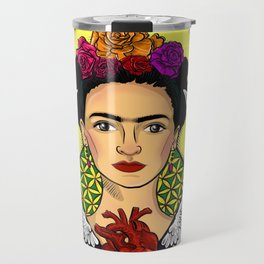 "Frida Kahlo ""Alas"" Travel Mug"