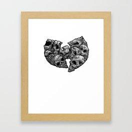 WuSkulls Framed Art Print