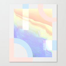 Shore Synth #1 Canvas Print