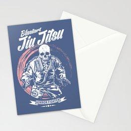 Jiu jitsu Horror Fighter Stationery Cards