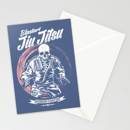 Jiu jitsu Horror Fighter Stationery Cards