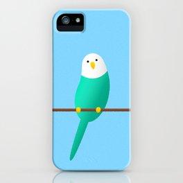 Budgie friend iPhone Case