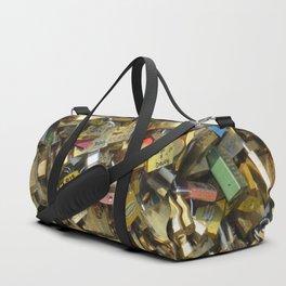 Love Padlocks Duffle Bag