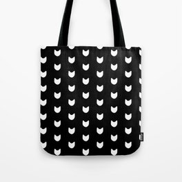 Cats Cats Cats (in Black) Tote Bag